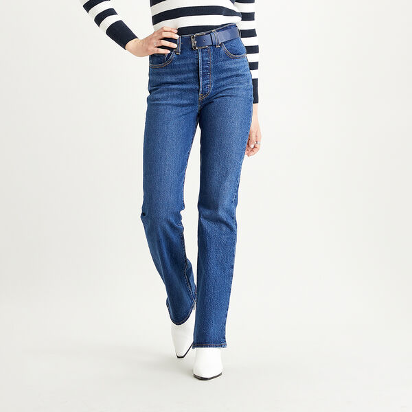 Ribcage Boot Cut Jeans
