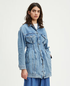 Levi's® Made and Crafted® Denim Trucker Dress