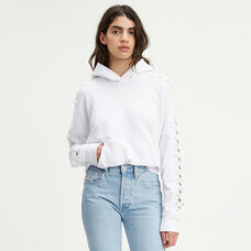 Levi's® Made & Crafted® Crochet Hoodie