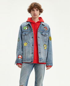 Levi's® x Super Mario Vintage Fit Trucker Jacket