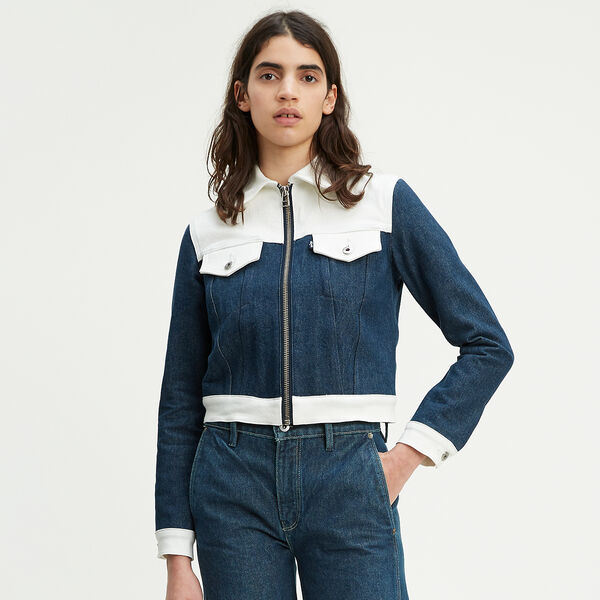 Levi's® Made & Crafted® Western Slim Trucker Jacket