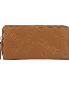 Levi's® Embossed Long Wallet