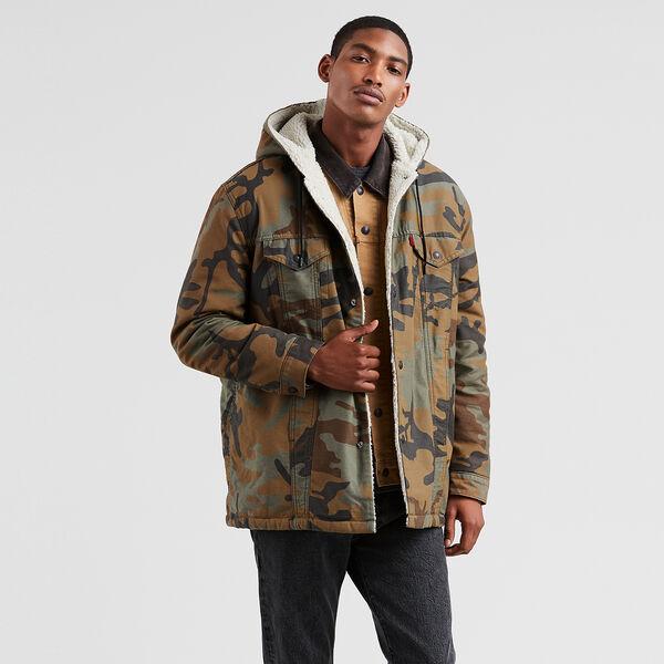 Levi's® X Justin Timberlake Sherpa Hooded Trucker Jacket