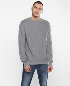 White Tab Sweater