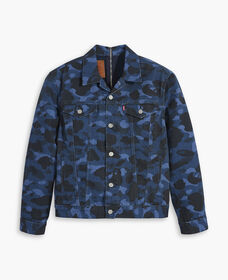 Levi's® x BAPE® Split Trucker Jacket