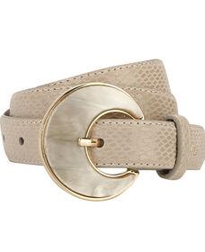 Levi's® Pearl Buckle Snakeskin Belt