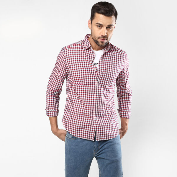White Tab Sunset Pocket Shirt