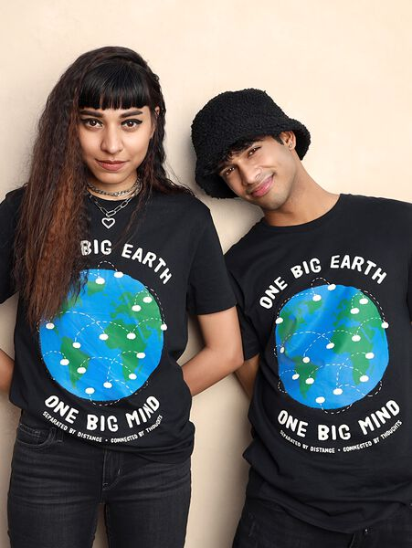 One Big Earth One Big Mind T-shirt