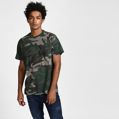 5422efca62 Sunset Tee - Camo Green