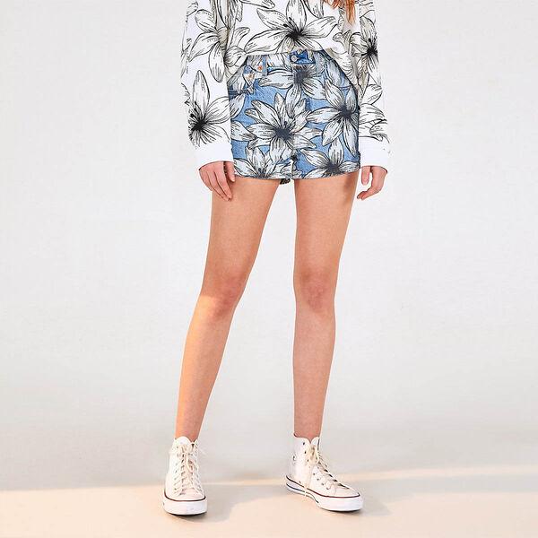 Levi's® x FARM Ribcage Shorts