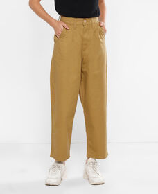 Pleated Balloon Trousers