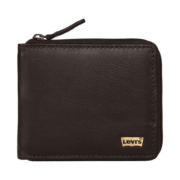 Levi's® Leather Zipper Wallet