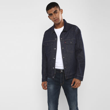 64c7a079ac2a Levi s® Engineered Jeans™ Trucker Jacket - LEJ Dark Blue