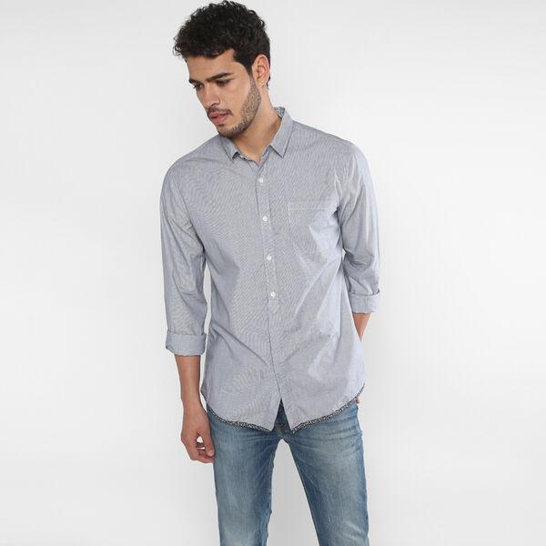 White Tab Sunset Pocket Shirt