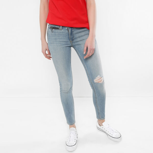 Styled Denim Boyfriend Jeans