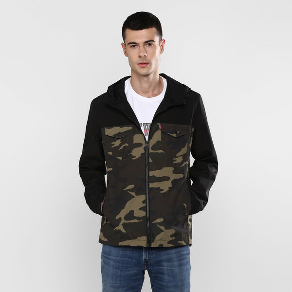 Levi's® Hooded Rain Jacket