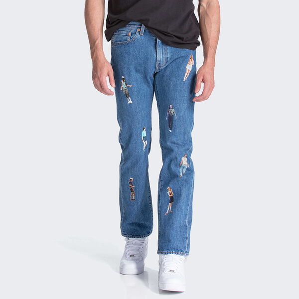 Levi's® x Stranger Things 505 Regular Fit Jeans