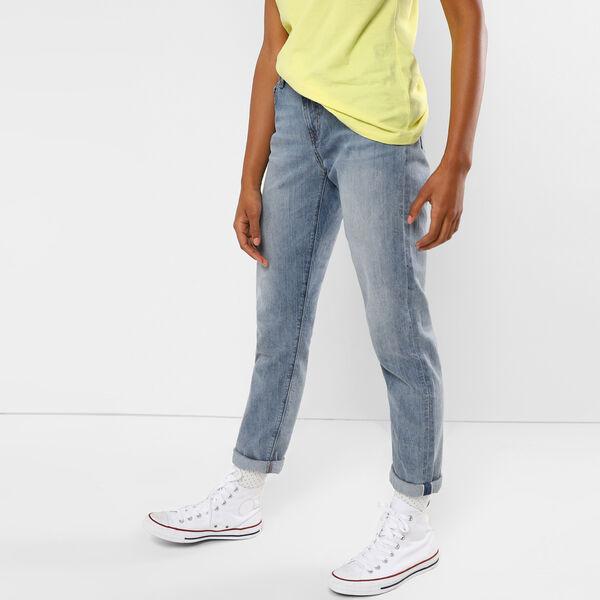 Selvedged Boyfriend Jeans
