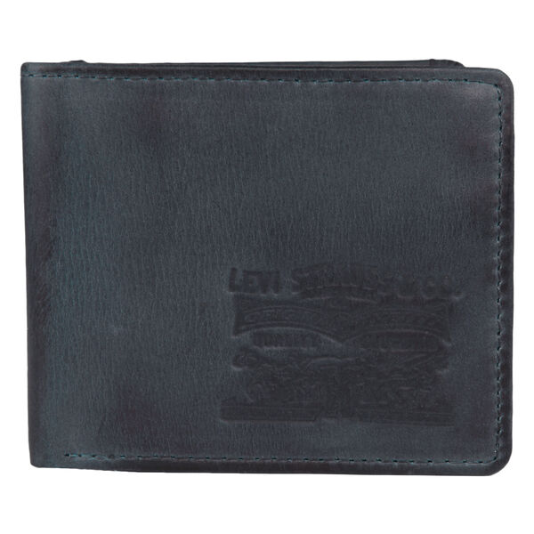 Levi's® Two Horse Pull Indigo Wallet
