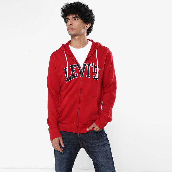 Levi's® Graphic Zip-up Hoodie