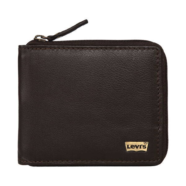 Levi's® Leather Zipper Wallet