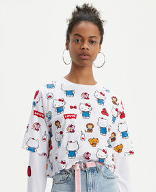 Levi's® x Hello Kitty® Graphic Oversized Tee