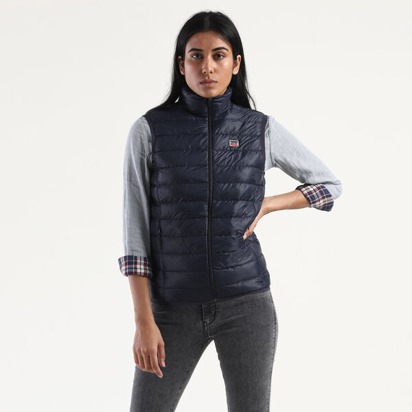 Packable Sleeveless Puffer Jacket
