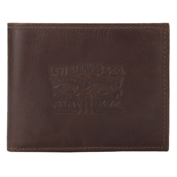 Levi's® Two Horse Pull Leather Wallet