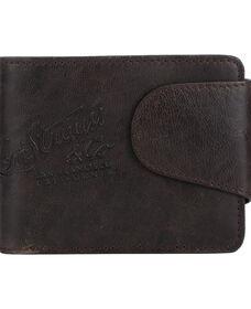 Levi's® Debossed Snap Closure Wallet