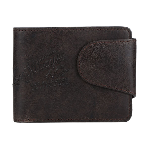 Levi's® Debossed Snap Closure Wallet