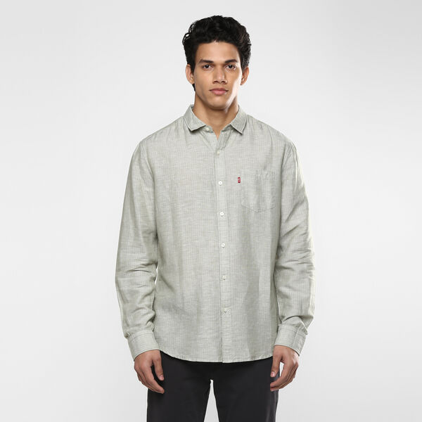 Sunset Pocket Linen Shirt