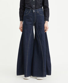 Levi's® Made and Crafted® Rancher Wide Leg Jeans