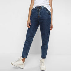 Exposed Zipper Jeans