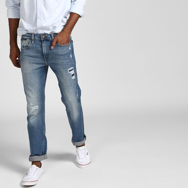511™ Styled Denim Slim Fit Jeans - Pine Blue Colour   Levi s® India 71f9da5683