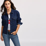 BOYFRIEND FIT TRUCKER JACKET