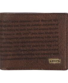 Levi's® Story Laser Wallet