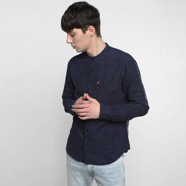 Linen Sunset Pocket Shirt